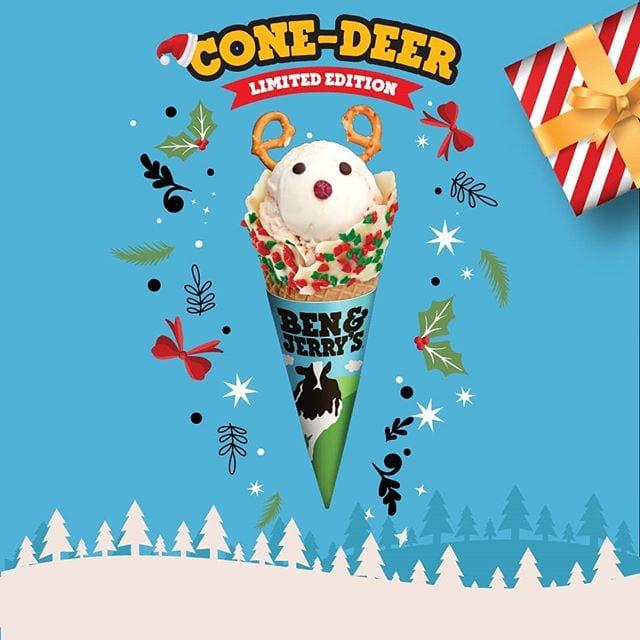 Ben & Jerry's Cone-Deer