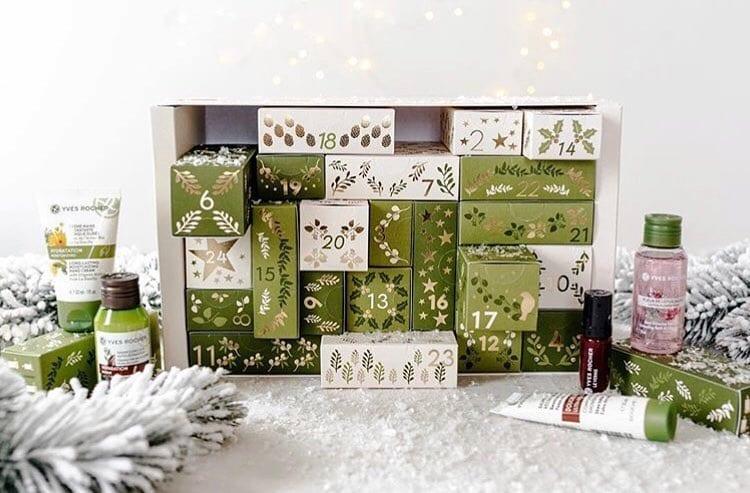 Yves Rocher advent calendar