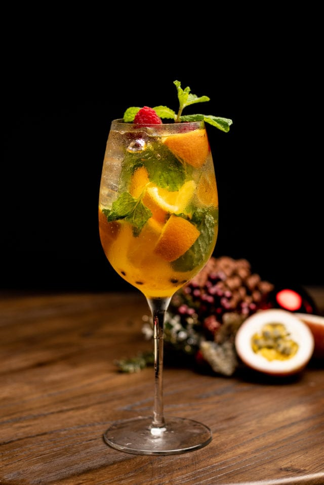 Black Fairy Coffee Christmas White Sangria