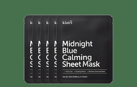 Klairs Midnight blue calming masks