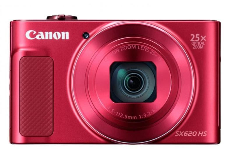 Canon Powershot SX620 in red