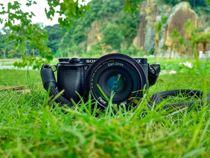Sony Powershot camera in black