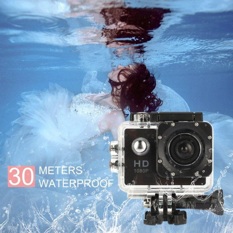 Waterproof Full HD 1080P Sports Action Camera