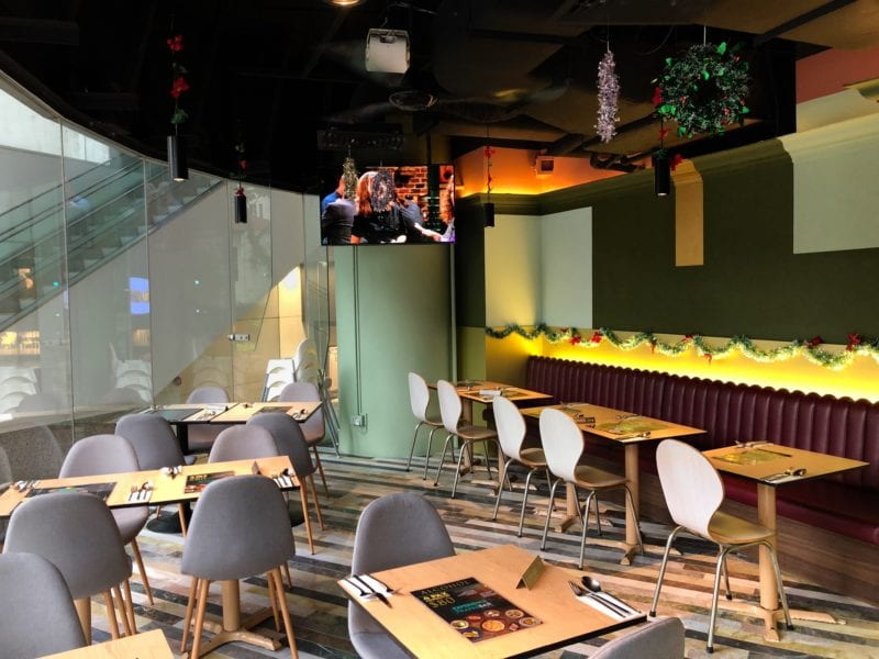 Interiors of FrapasBar