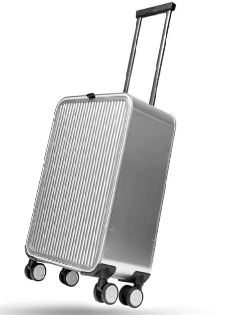 Fully aluminium luggage bag