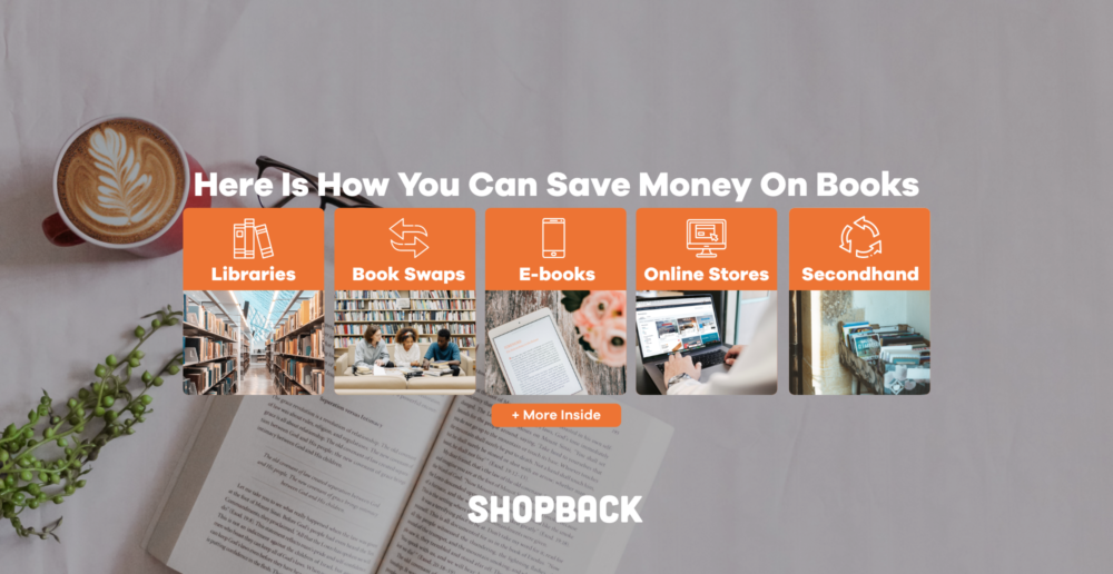 save money on books and books promotions