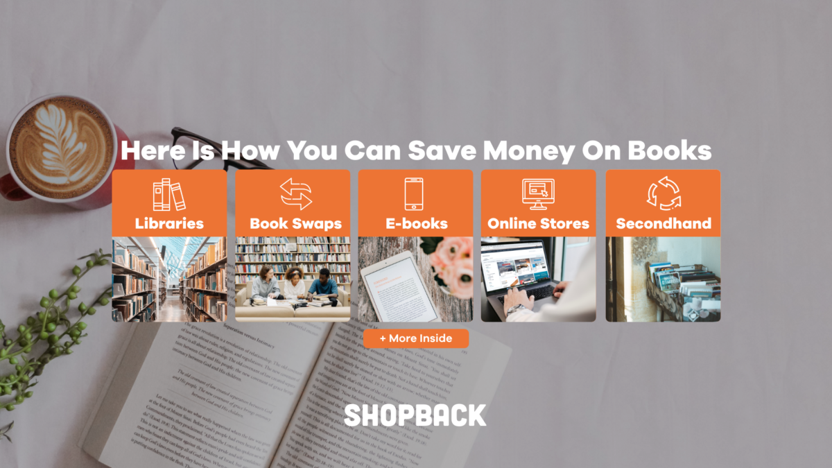 Here Is How You Can Save Money On Books: 6 Tried & Tested Ways