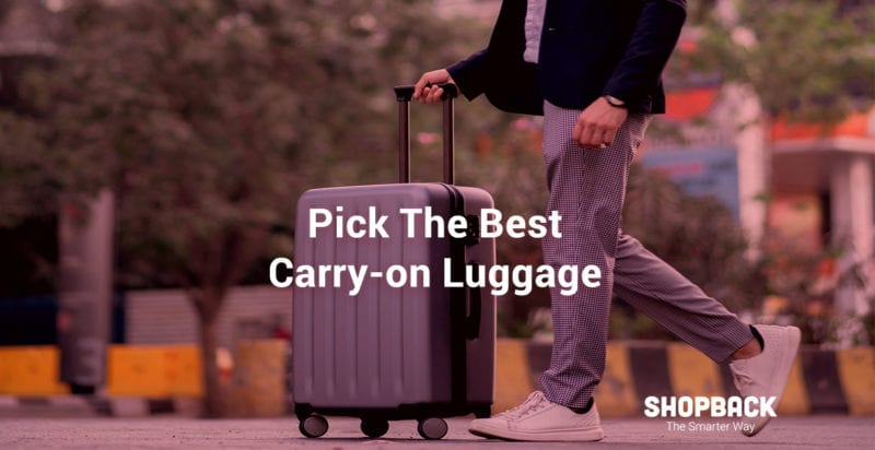 silver carry-on luggage