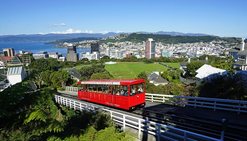Wellington cable cars