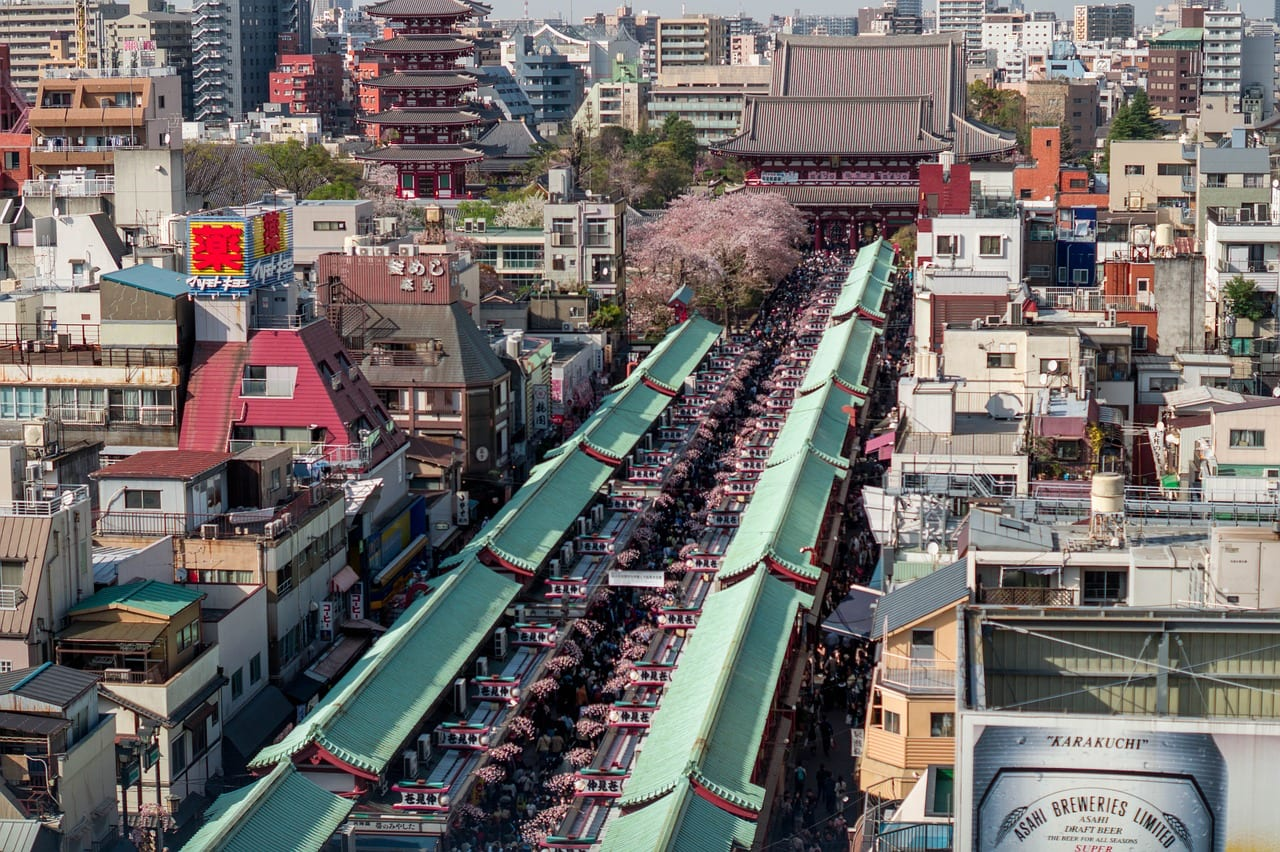 Asakusa | Where to stay in Tokyo
