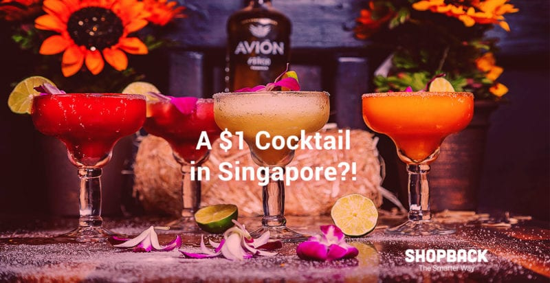 redeem $! cocktail at frapas bar with shopbackGO
