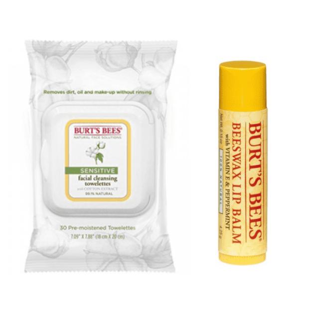 lip balm and moisturizing wipes sephora