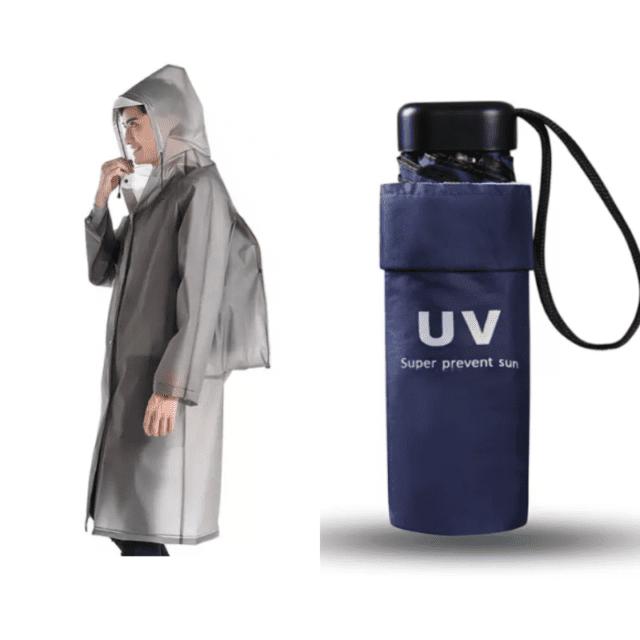 rainwear raincoat umbrella