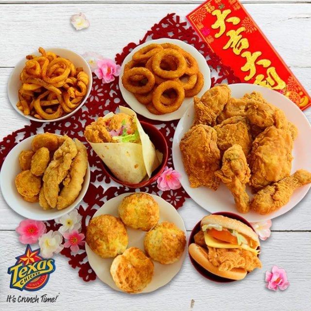 hong Pow Mala chicken Texas Chicken Singapore shopback