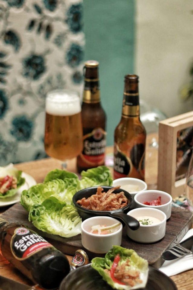 the Butcher's Wife crispy ear ofthe pig cny menu shopback singapore
