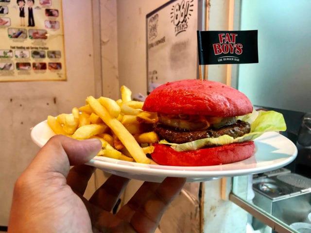 FatBoy's/FatPapas Hong Pow burger cny shopback singapore