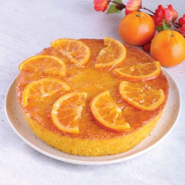 Mandarin Orange Polenta Almond cake cny cedele singapore shopback