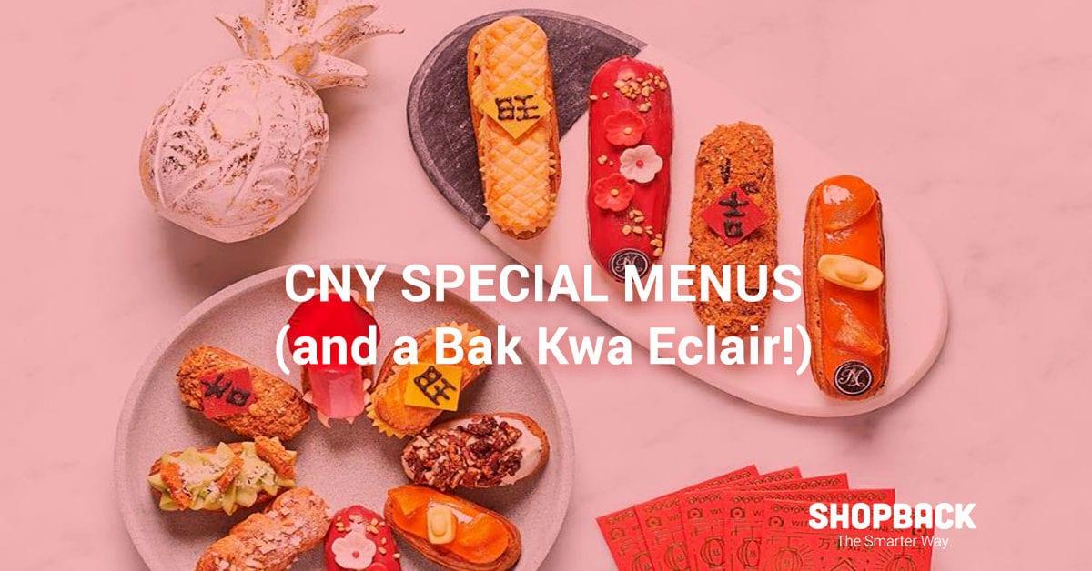 CNY Creations 2019: Best Yu Sheng, Meals & Festive Desserts