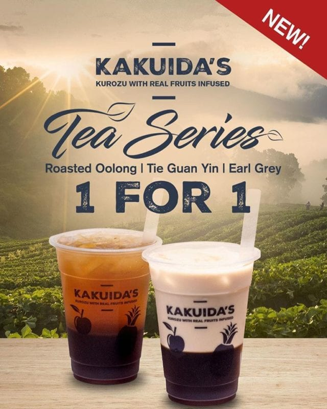 1-for-1 milk tea series kakuida's