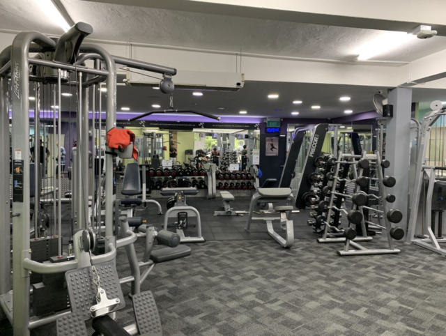 cheapest gym membership in singapore at anytime fitness