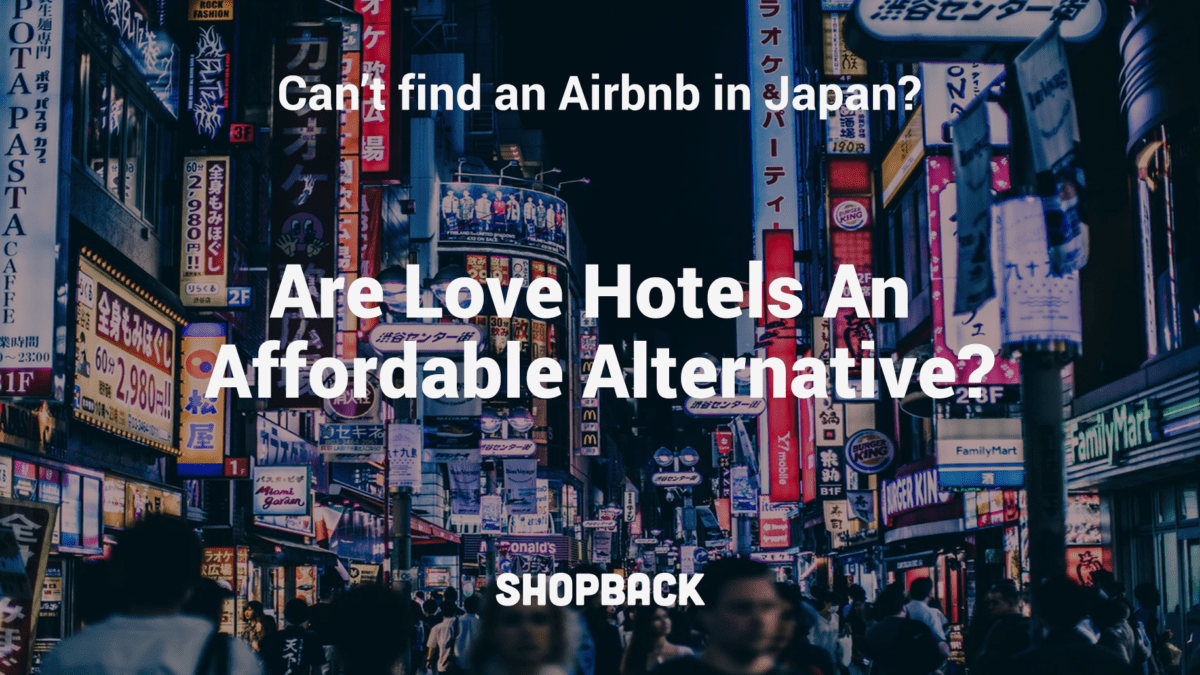 Trouble Finding An Airbnb in Japan? Love Hotels Might Be a Better Option