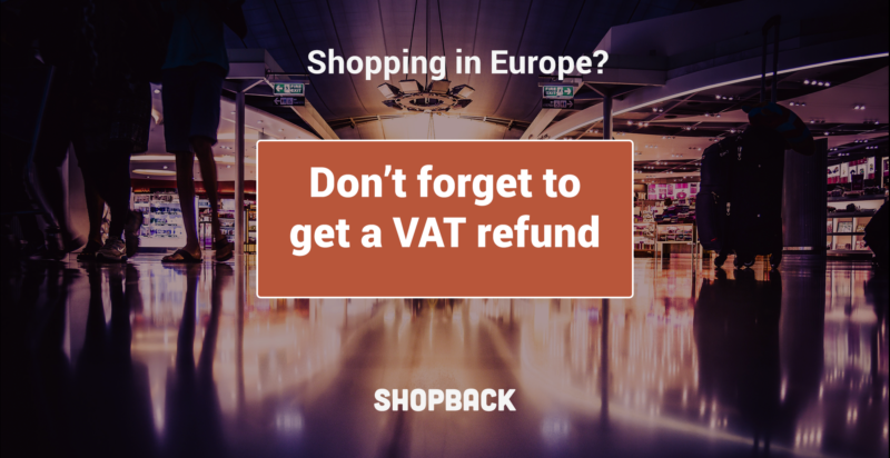 shop at airport terminal in europe