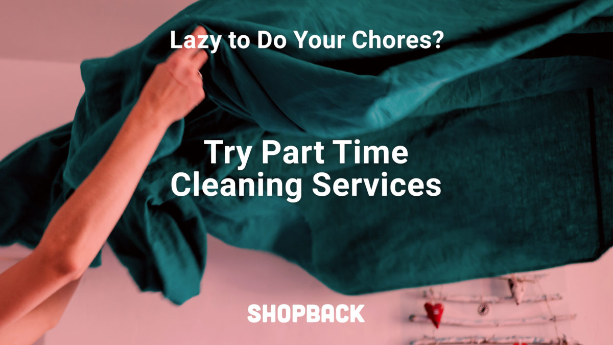 Part Time Cleaning Services In Singapore If You Don't Want A Full Time Helper