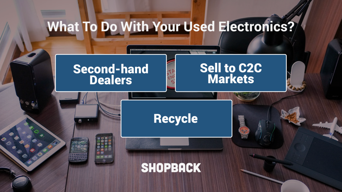 What To Do With My Used Electronics: Resell or Discard?