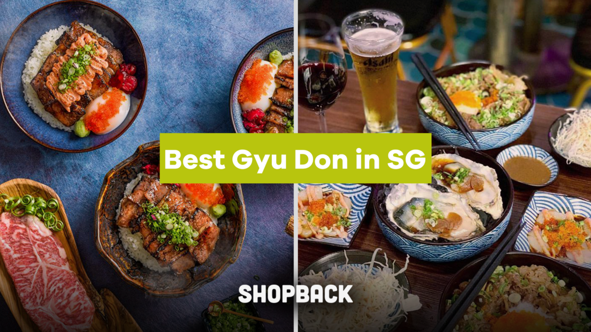 The Best Places To Eat Gyudon (Beef Bowl) In Singapore