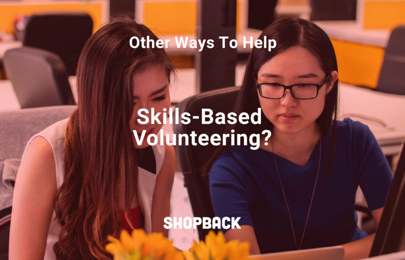 skills based volunteering blog header