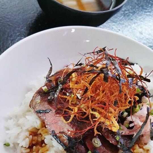Gyudon wagyu beef bowl