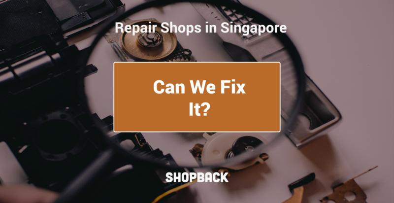 repairing electronics in singapore