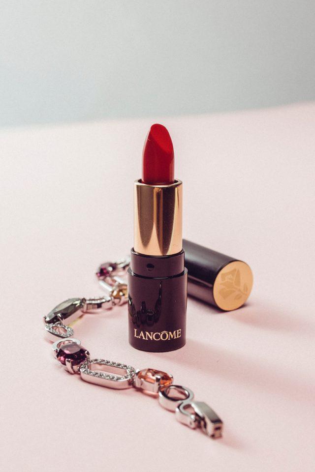 lancome lipstick red