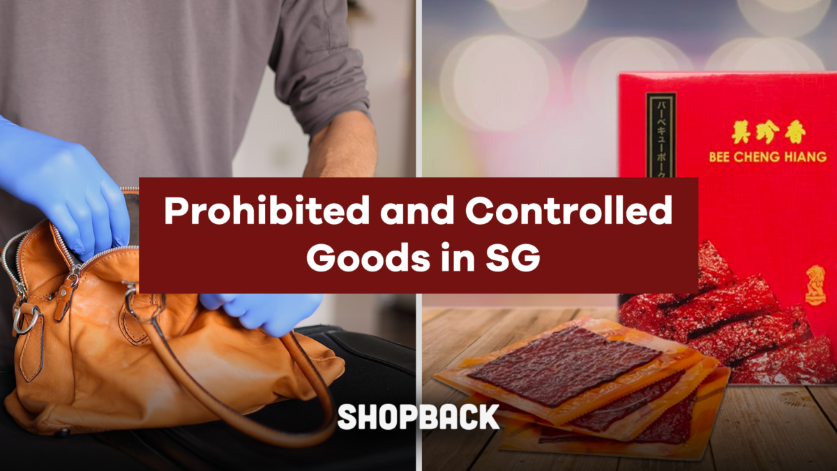 Returning From Holiday With Bak Kwa In Your Luggage? Guide On Prohibited And Controlled Goods In Singapore