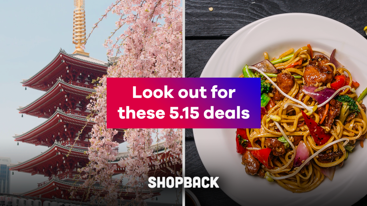 5.15 Sale: There is a Way to Nab a Free Dinner This Month (We Will Tell You How!)