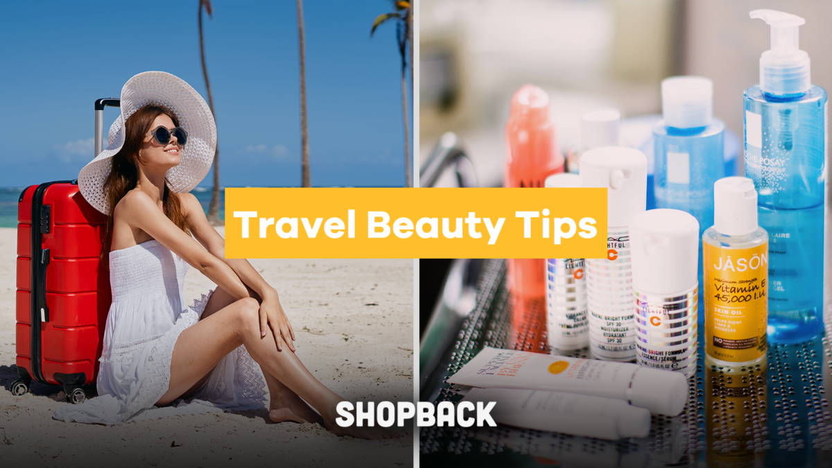 Beauty While Travelling: How to Protect Your Skin After Long Flights and Sun Damage