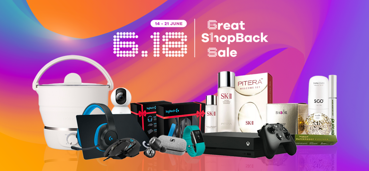 We're Having a Great ShopBack Sale – Here Are The Deals You'll Definitely Want To Snag on 18 June (UPDATED)