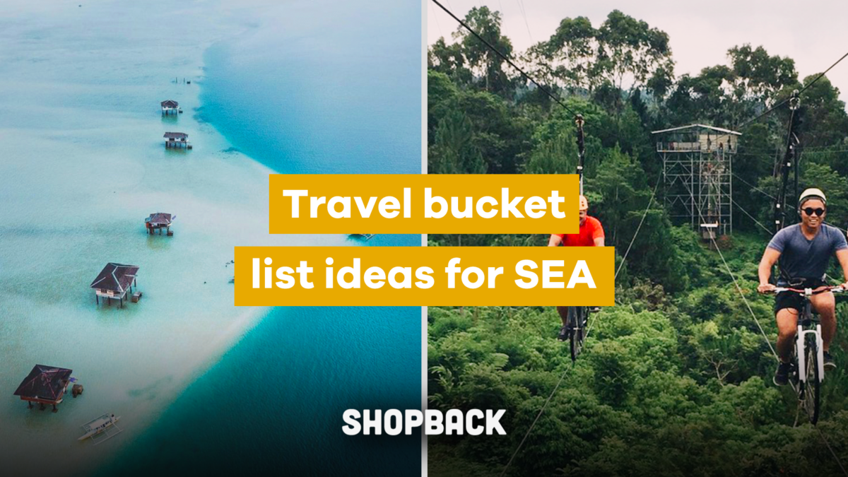 Travel Bucket List for SEA: All You Need to Do & See At Least Once (With Checklists!)