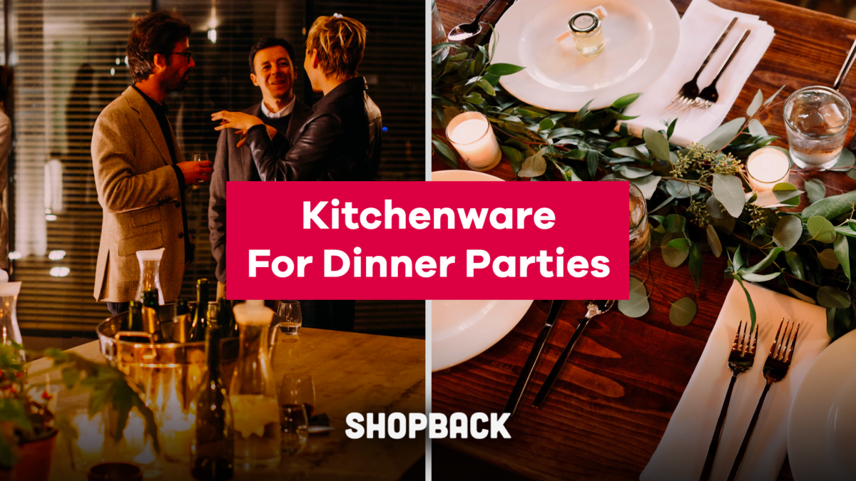 Kitchen & Home Essentials You Need to Host More Dinner Parties on The Cheap