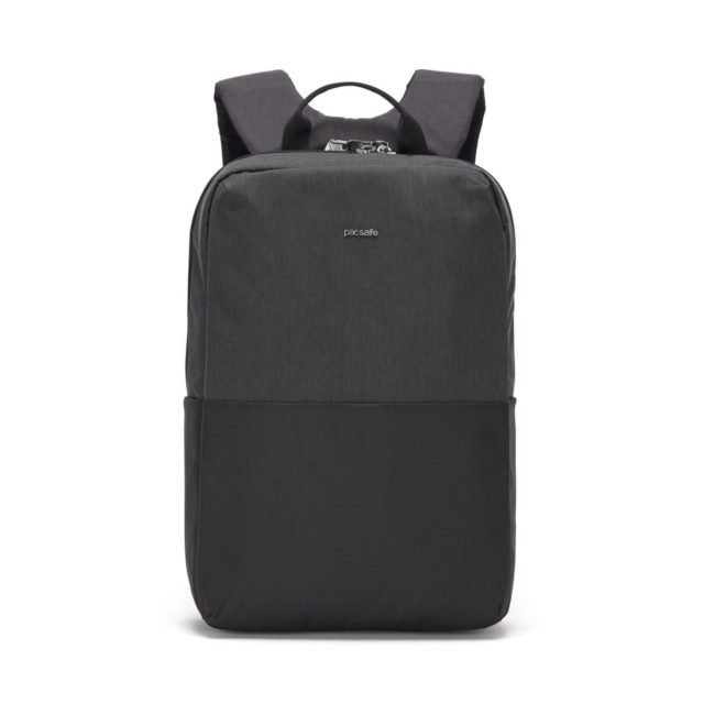 two tone grey backpack