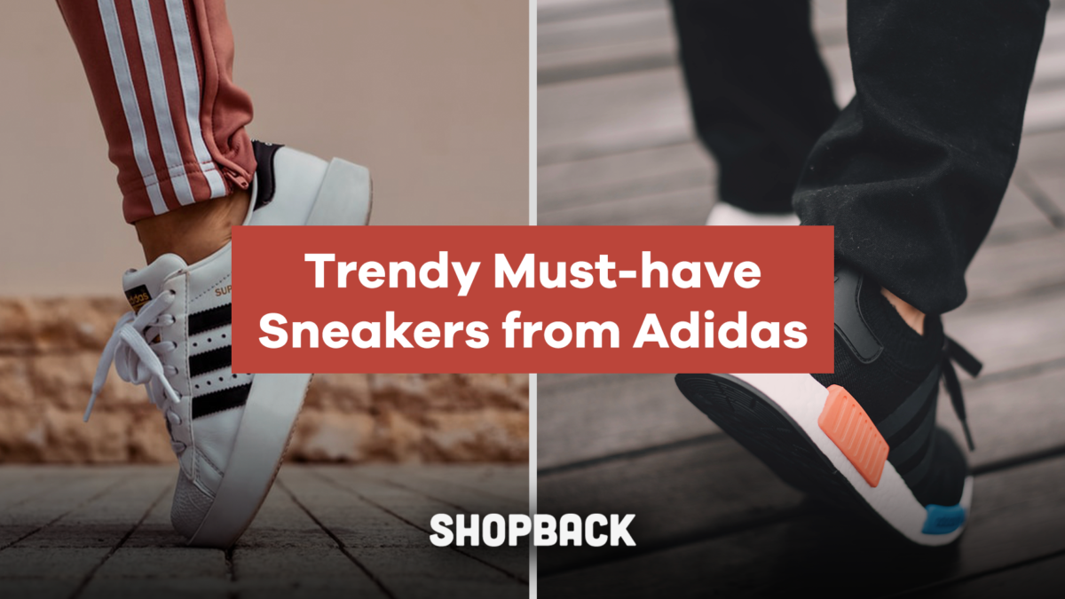 The Sleekest Sneakers You Can Get From Adidas (Plus Cashback!)