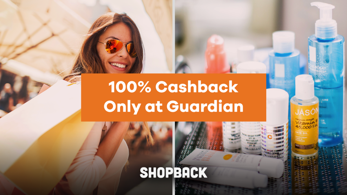 Get These Top Items For 'Free' at Guardian With ShopBack GO! Here's How.