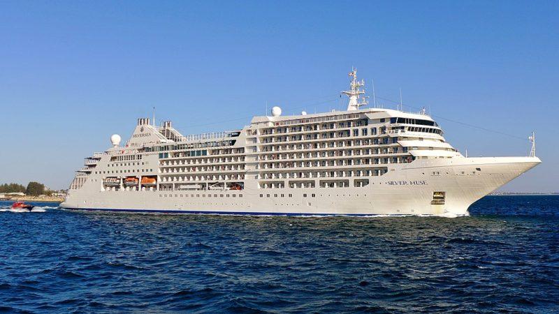 silversea cruise at sea