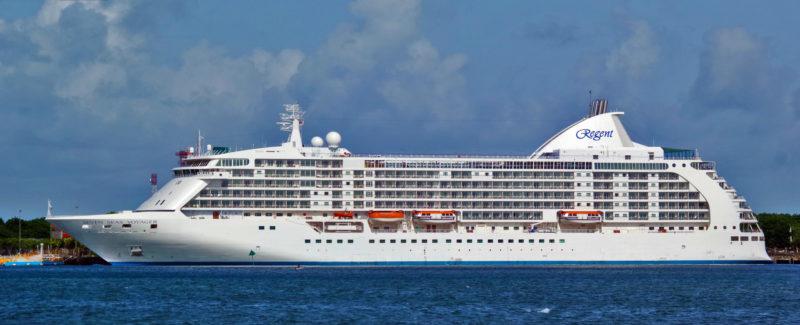 Seven Seas Cruise at sea