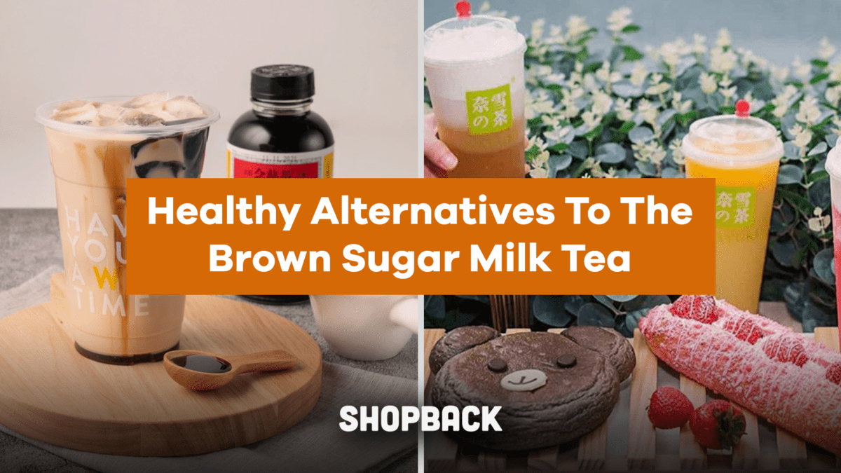 Tasty Alternatives That Are Healthier Than The Brown Sugar Milk Tea