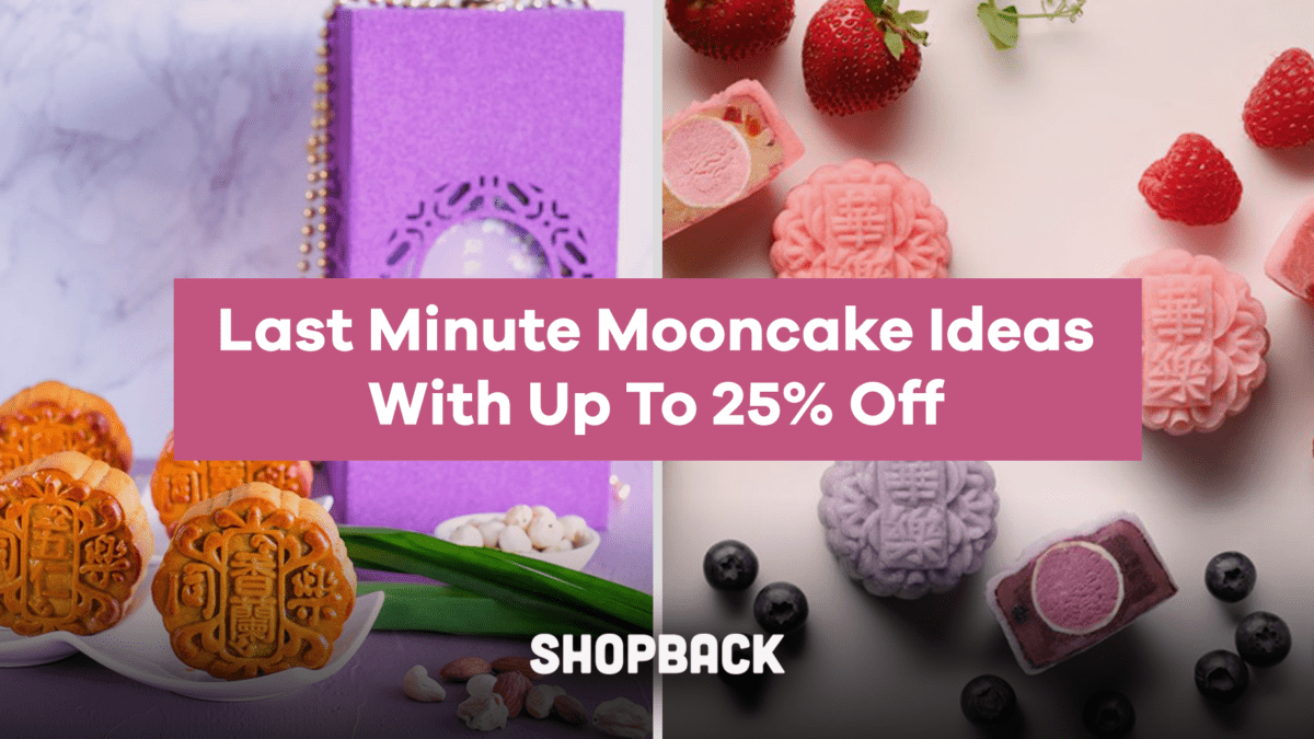 Mid-Autumn Festival 2019 – Gold Dusted Red Date Mooncake and Oreo Mooncakes!
