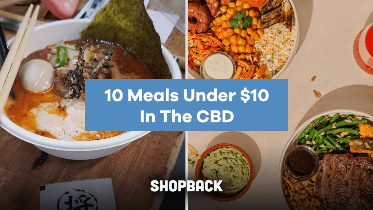 10 Budget Meals For Under $10 In The CBD