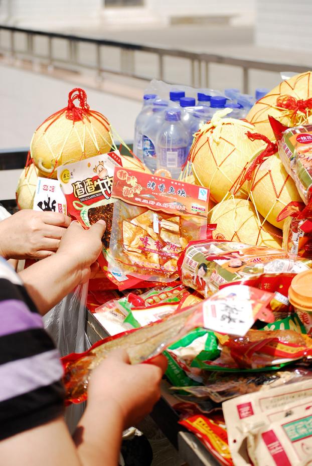 variety of local china snacks