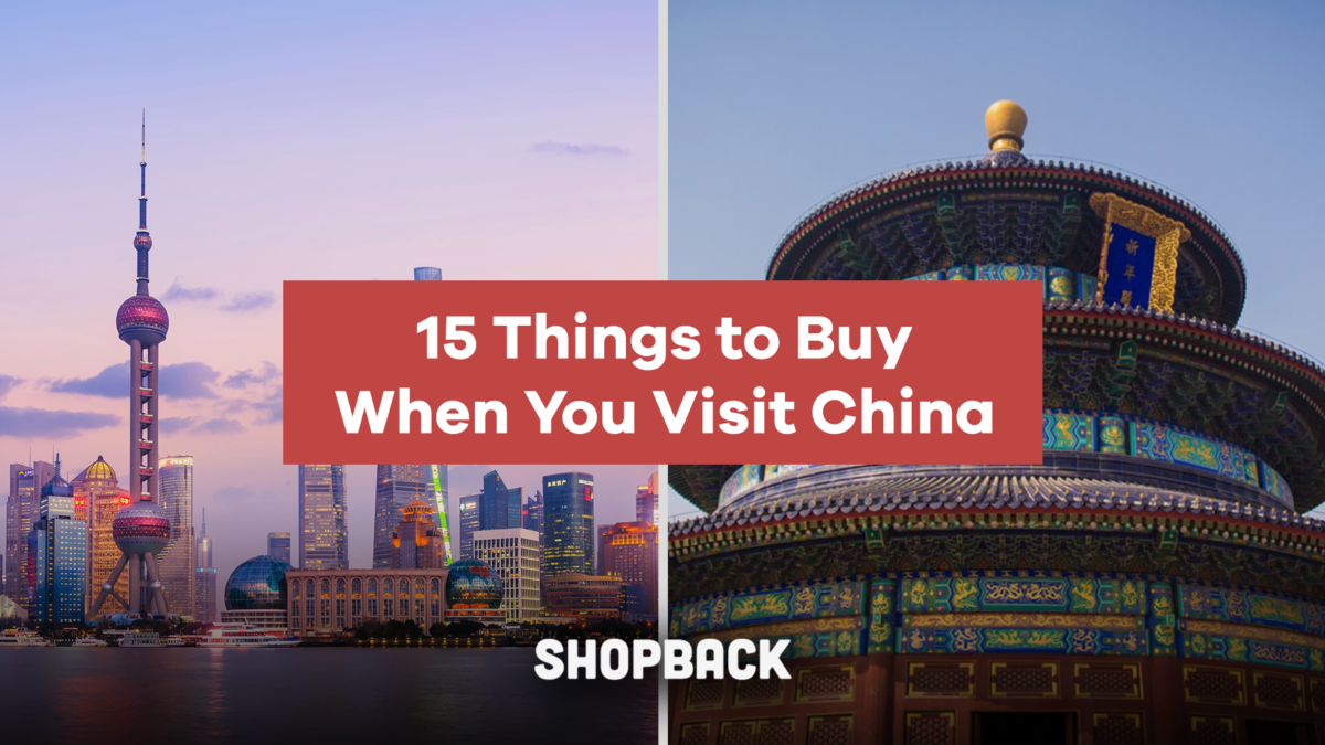 What To Buy In China: 15 Things To Get When You Visit China