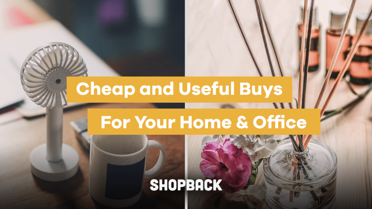 Cheap and Useful Buys for Your Home and Office